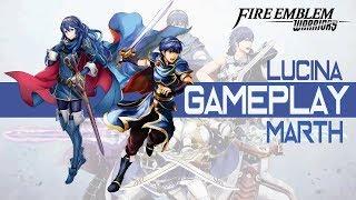 Fire Emblem Warriors - Lucina & Marth Team Play ファイアーエムブレム無双