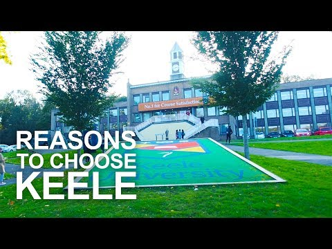 Reasons to choose Keele