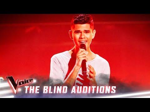 The Blinds: Budjerah Slabb sings 'Climb Every Mountain'  | The Voice Australia Season 8