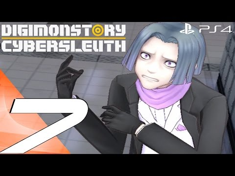 Digimon Story Cyber Sleuth (PS4) - Walkthrough Part 7 - Shinjuku Station & Eater Boss