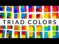 Color Theory Ep.10 Triad Color Scheme