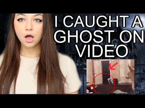 CATCHING A GHOST ON VIDEO *NOT CLICKBAIT*...