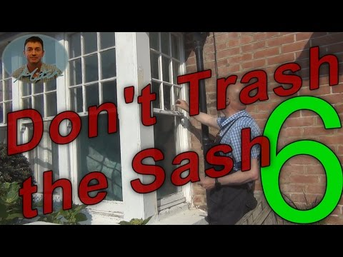Installing Staff Beads & Seals - Sash Window Restoration Part 6