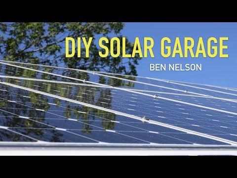 DIY Solar Garage Presentation