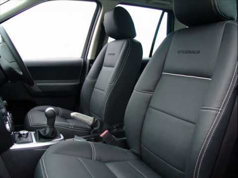 Bespoke leather interior for land rover freelander by the - Range rover with red leather interior ...