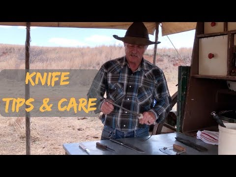 Knife Sharpening Tips and Care + Hash Knife How-To