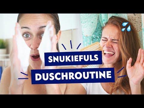 Snukiefuls Do's & Don'ts beim Duschen