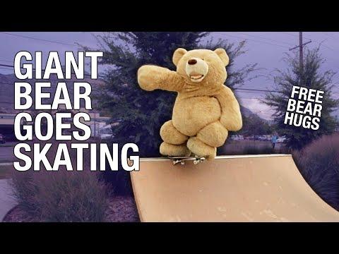 Get WORLDS LARGEST SKATEBOARDING BEAR!! Screenshots