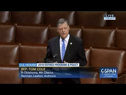 "Rep. Cole: ""A new AUMF is necessary"" (Part 1)"