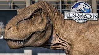 TYRANNOSAURUS REX KINGDOM FIXED!!! - Jurassic World Evolution FULL PLAYTHROUGH | Ep38HD