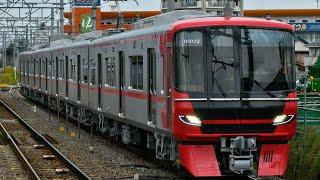 名鉄9500系(9502F)新製試運転 名古屋本線知立通過