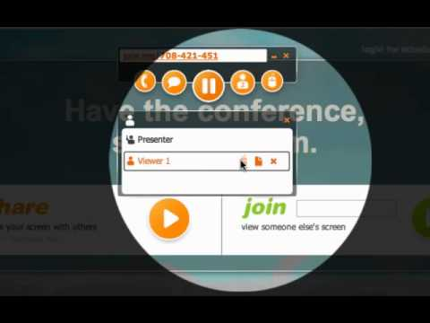 Join.me quick preview and tutorial
