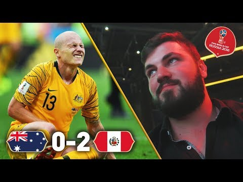 REACTING TO AUSTRALIA BEING KNOCKED OUT THE WORLD CUP!!! Australia 0 - 2 Peru