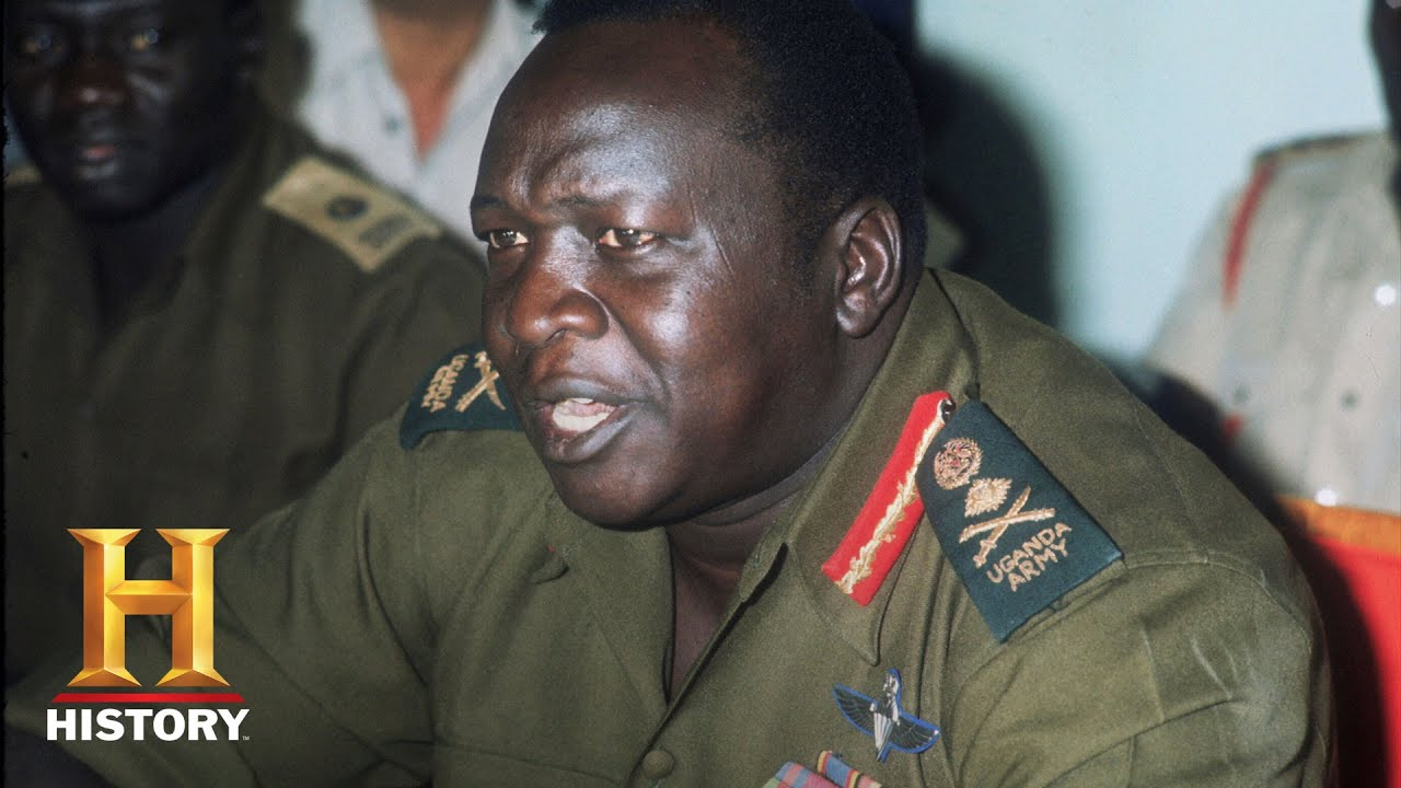 Idi Amin Idi Amin Violent Ugandan President Fast Facts History YouTube