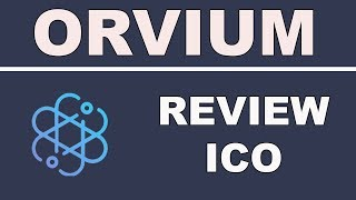 Review Orvium ICO - Open and Transparent Science Powered By Blockchain