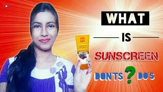 How To Apply SUNSCREEN ?? 🌞|| 😨 [5] Do