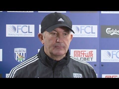 TP IN THREE: Tony Pulis speaks to the press ahead of FA Cup tie against Peterborough