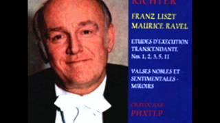 Sviatoslav Richter - Moris Ravel - Miroirs - 2 Oiseaux Tristes.