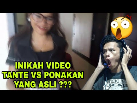 INIKAH VIDEO TANTE VS PONAKAN YANG ASLI ???!!!!