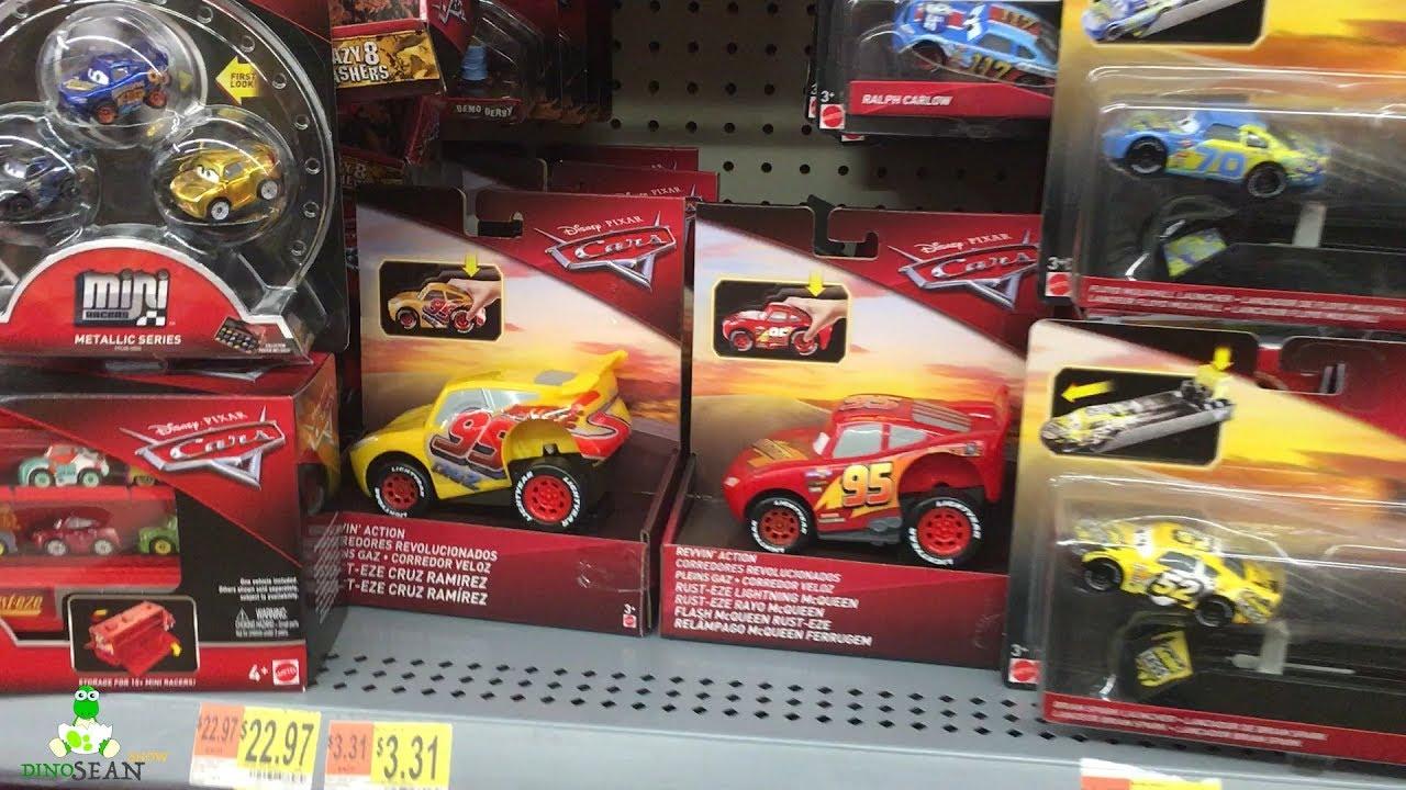 New 2018 Disney Cars 3 Walmart Toy Hunt Cars 3 2018 Diecast Revvin