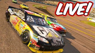 THIS GAME PROVIDES A LOT OF RAGE! // NASCAR 2011 Funny Eliminator Racing LIVE