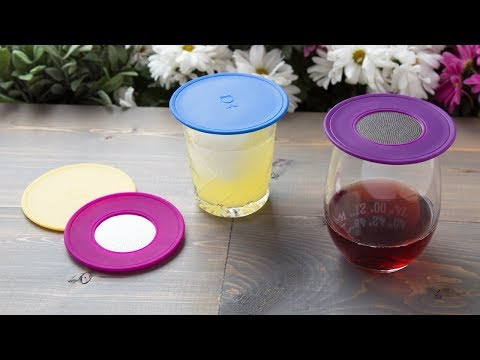Make your wine or lemonade a no-fly zone.