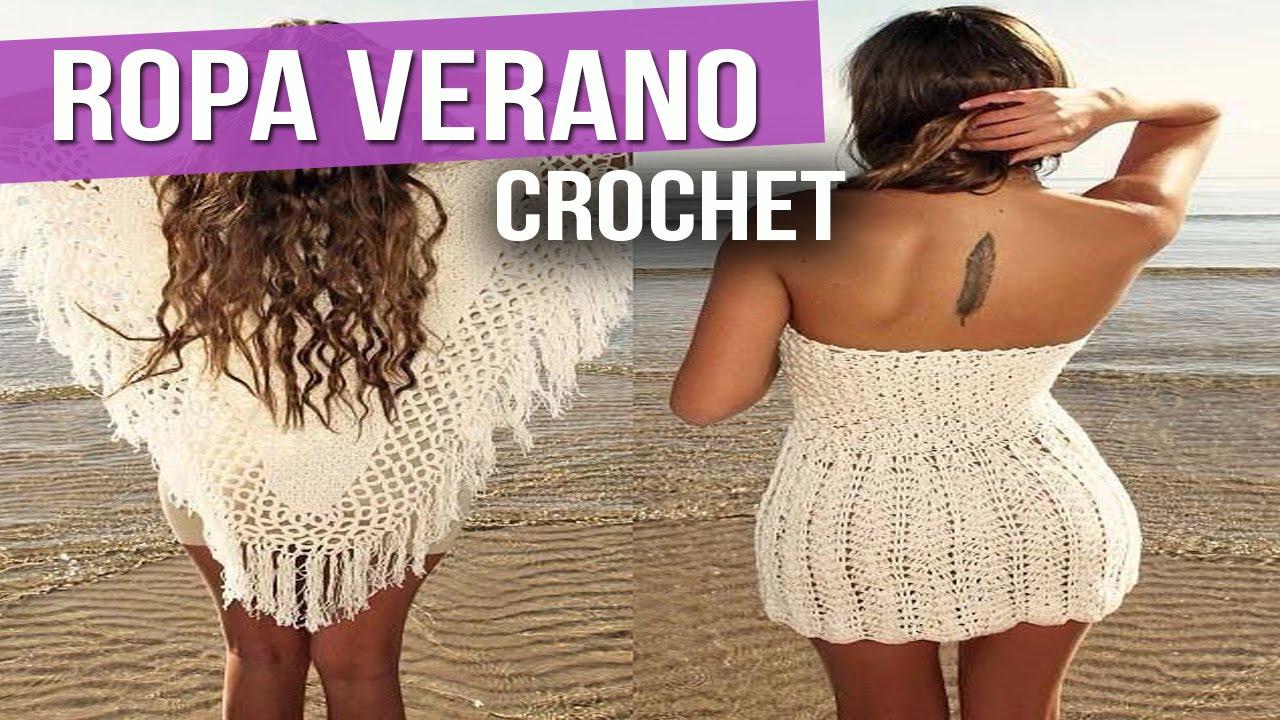 Ropa verano mujer blusas vestidos tejidos a crochet for Diseno de ropa