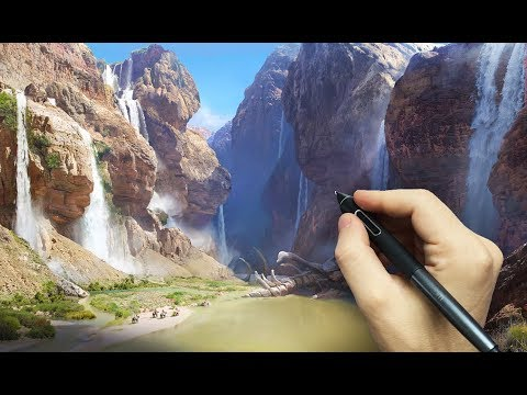 Matte Painting in