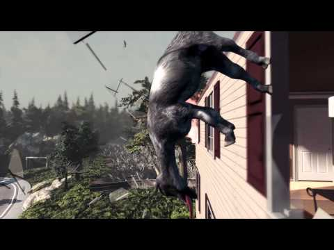 Goat Simulator trailer shows the dangers of being a goat