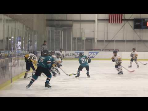 Valencia Jr. Flyers vs San Jose Jr. Sharks - State Playoffs Squirt BB Championship