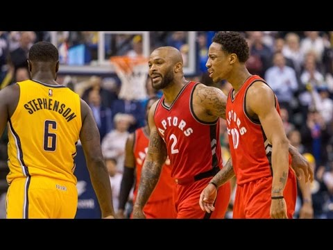 Lance Stephenson Blowout Layup Sparks FIGHT Between Raptors and Pacers