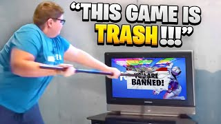 Top 10 CRAZIEST Fortnite KID FREAKOUTS THAT WENT TOO FAR!