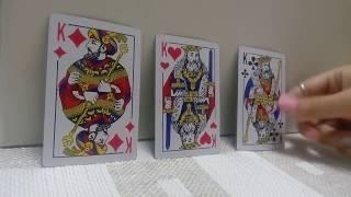 #что он думает о вас #гадание на картах #на игральных картах #онлайн #расклад
