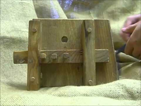 The Anglo Saxon wooden slide lock