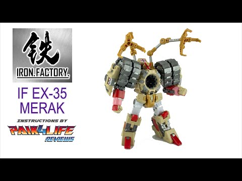 Iron Factory IF EX-35 Merak Official Video Manual