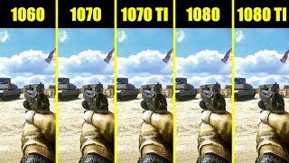 Battlefield 3 GTX 1080 TI Vs GTX 1080 Vs GTX 1070 TI Vs 1070 Vs 1060 Comparison