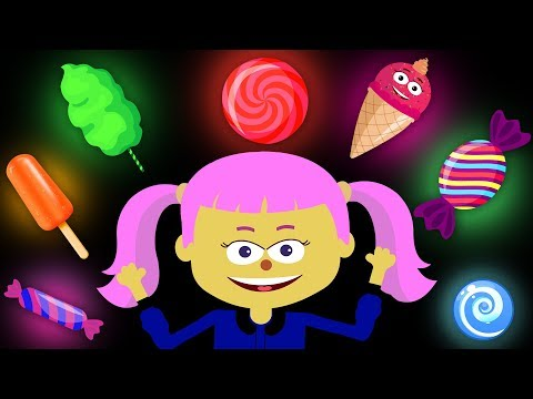 Learn Colors With Yummy Sweet Treats | BRAND NEW Finger Family Nursery Rhyme For Kids by Teehee Town