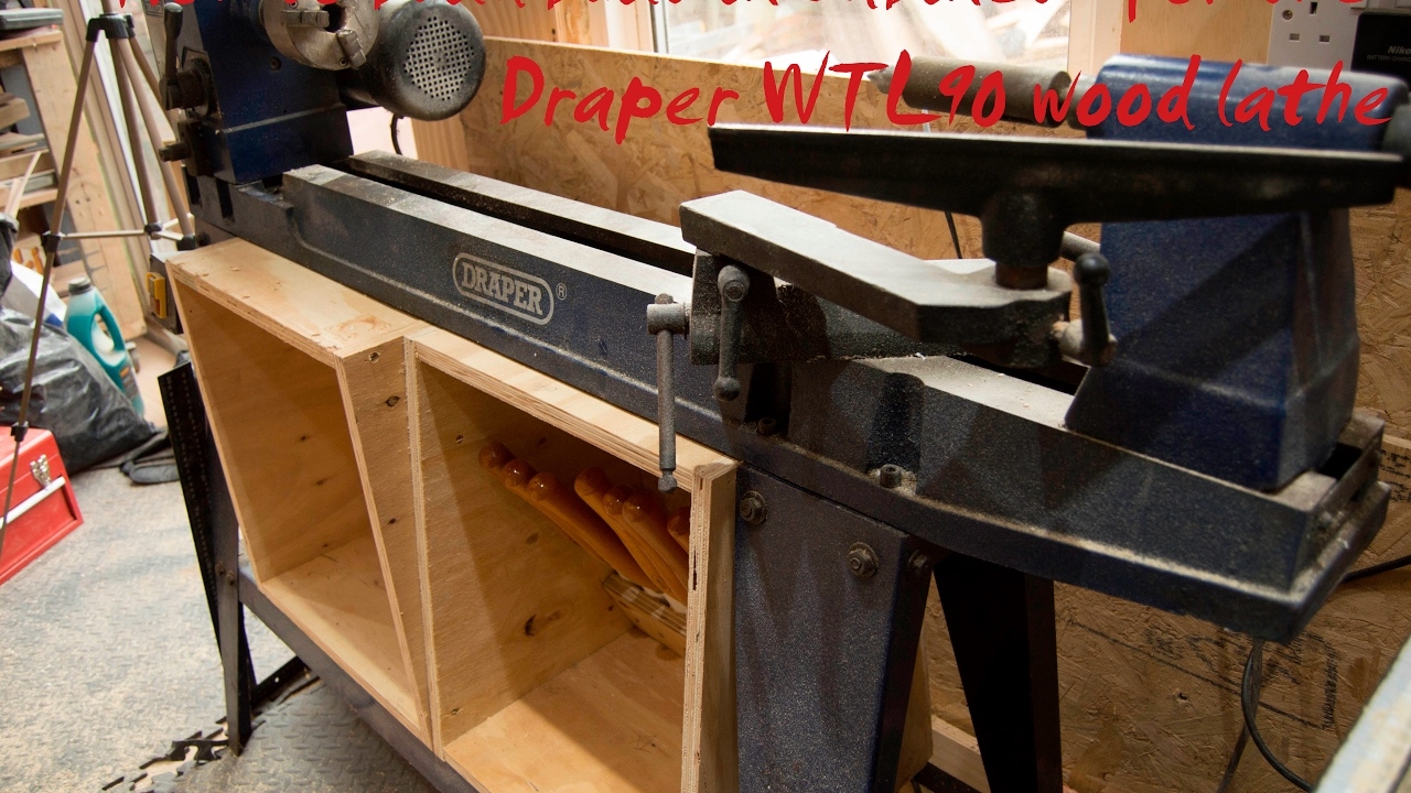 How to build a draper WTL90 lathe cabinet - YouTube