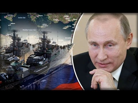 RUSSIA MOVES IN: VLADIMIR PUTIN SENDS WARSHIP TO MEDITERRANEAN AMID PLANS FOR WAR FEARS