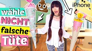 Wähle nicht die falsche SCHULTÜTE 🙊 Blöde oder coole Schultüte | ViktoriaSarina