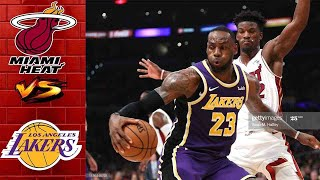 Los Angeles Lakers vs Miami Heat Full Highlights 2nd QTR | Game 3 NBA Finals | NBA Playoffs 2020
