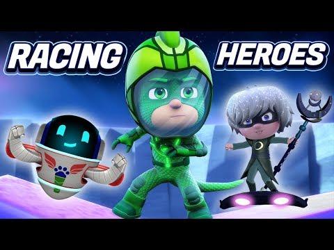 PJ Masks Games | PJ Masks Racing Heroes - New App Game - Gekko Gameplay | Game For Kids