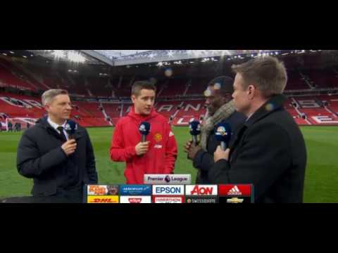 Post Match Analysis with Man of the Match. Ander Herrera. Manutd vs chelsea.
