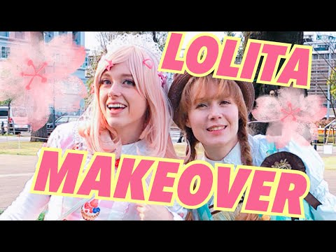 ♡Lolita Fashion Transformation♡ A Sweet Lolita Make-up Makeover
