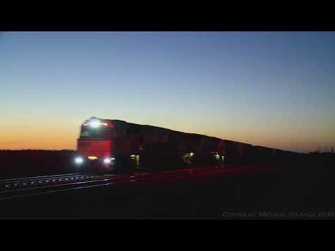 Pacific National Intermodal Container Train - PoathTV Australian Trains & Railways
