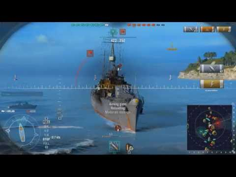 world of warships gameplay part 3, nhnornggame player of world of warships level 3