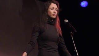 Luiza Doll читает Веру Полозкову 20.02.16 Кёльн