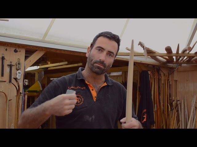 Anleitung Bogenbau - Werkzeug: Schleifpapier