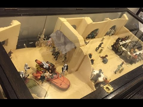 My Biggest Star Wars Diorama Yet (At Local Library, Aug 2016)