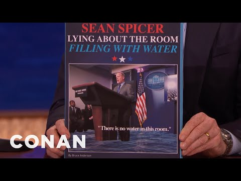 Coffee Table Books That Didn't Sell 03/06/17  - CONAN on TBS